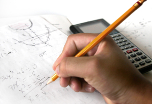 math-with-pencil-and-calculator